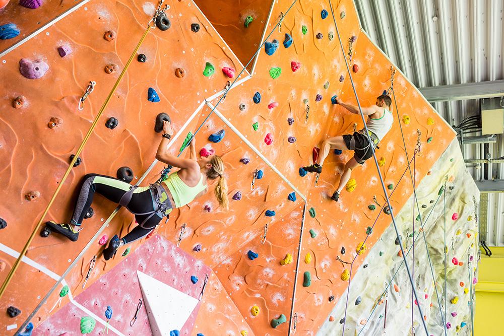 Indoor Rock Climbing in Aberdeen