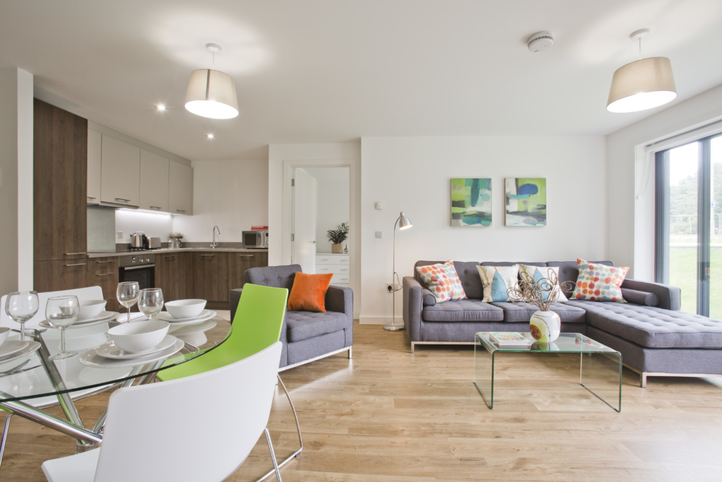 Furnished 2 bedroom concept flat at Forbes Place, Aberdeen